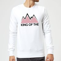 Summit Finish King Of The Mountains Sweatshirt - White - L - White