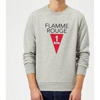 Summit Finish Flamme Rouge Sweatshirt - Grey - S - Grey