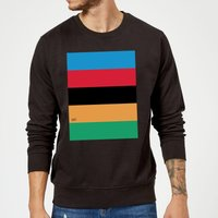 Summit Finish World Champion Stripes Sweatshirt - Black - L - Black