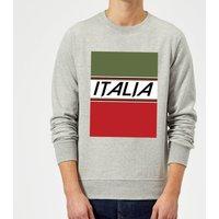 Summit Finish Italia Sweatshirt - Grey - XL - Grey