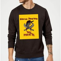 Summit Finish Pantani The Pirate Sweatshirt - Black - M - Black