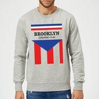 Summit Finish Brooklyn Chewing Gum Sweatshirt - Grey - S - Grey