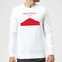 Summit Finish Mont Ventoux Sweatshirt - White - XXL - White