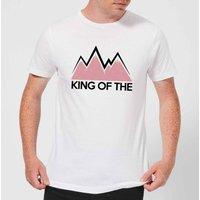 Summit Finish King Of The Mountains Men's T-Shirt - White - XL - White