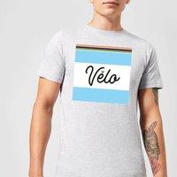 Summit Finish Velo Men's T-Shirt - Grey - XXL - Grey