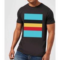 Summit Finish Belgium Flag Men's T-Shirt - Black - XL - Black
