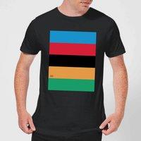 Summit Finish World Champion Stripes Men's T-Shirt - Black - 5XL - Black