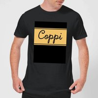 Summit Finish Fausto Coppi Men's T-Shirt - Black - L - Black