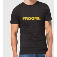 Summit Finish Froome - Rider Name Men's T-Shirt - Black - S - Black