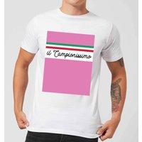 Summit Finish Il Campionissimo Men's T-Shirt - White - S - White
