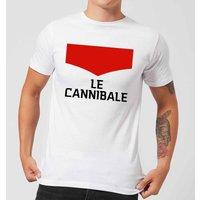 Summit Finish Le Cannibale Men's T-Shirt - White - XXL - White