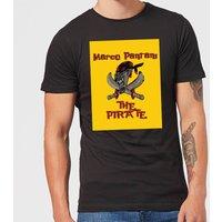 Summit Finish Pantani The Pirate Men's T-Shirt - Black - 5XL - Black