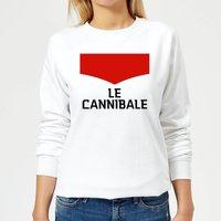 Summit Finish Le Cannibale Women's Sweatshirt - White - S - White