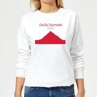 Summit Finish Col du Tourmalet Women's Sweatshirt - White - S - White