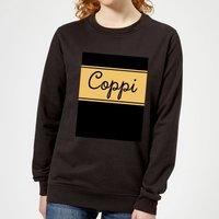 Summit Finish Fausto Coppi Women's Sweatshirt - Black - S - Black