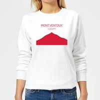 Summit Finish Mont Ventoux Women's Sweatshirt - White - XS - White