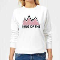 Summit Finish King Of The Mountains Women's Sweatshirt - White - XXL - White