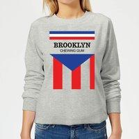 Summit Finish Brooklyn Chewing Gum Women's Sweatshirt - Grey - XXL - Grey
