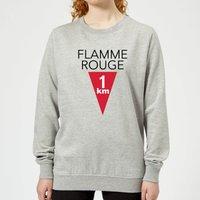 Summit Finish Flamme Rouge Women's Sweatshirt - Grey - XXL - Grey