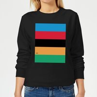 Summit Finish World Champion Stripes Women's Sweatshirt - Black - M - Black