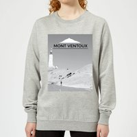 Summit Finish Mont Ventoux Scenery Women's Sweatshirt - Grey - XS - Grey