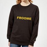 Summit Finish Froome - Rider Name Women's Sweatshirt - Black - XXL - Black