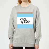 Summit Finish Velo Women's Sweatshirt - Grey - L - Grey