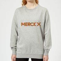 Summit Finish Merckx - Rider Name Women's Sweatshirt - Grey - XL - Grey