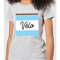 Summit Finish Velo Women's T-Shirt - Grey - XL - Grey