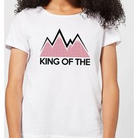 Summit Finish King Of The Mountains Women's T-Shirt - White - XS - White