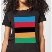 Summit Finish World Champion Stripes Women's T-Shirt - Black - XXL - Black