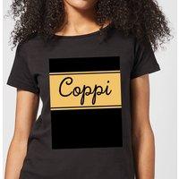 Summit Finish Fausto Coppi Women's T-Shirt - Black - L - Black