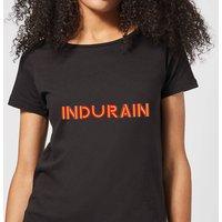 Summit Finish Indurain - Rider Name Women's T-Shirt - Black - L - Black