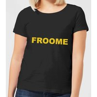 Summit Finish Froome - Rider Name Women's T-Shirt - Black - L - Black