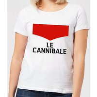 Summit Finish Le Cannibale Women's T-Shirt - White - XXL - White