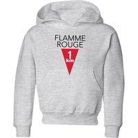 Summit Finish Flamme Rouge Kids' Hoodie - Grey - 3-4 Years - Grey
