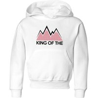 Summit Finish King Of The Mountains Kids' Hoodie - White - 11-12 Years - White