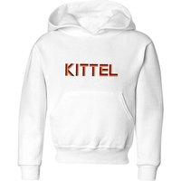 Summit Finish Kittel - Rider Name Kids' Hoodie - White - 9-10 Years - White