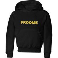 Summit Finish Froome - Rider Name Kids' Hoodie - Black - 7-8 Years - Black