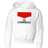 Summit Finish Le Cannibale Kids' Hoodie - White - 5-6 Years - White