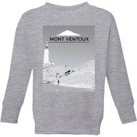 Summit Finish Mont Ventoux Scenery Kids' Sweatshirt - Grey - 7-8 Years - Grey