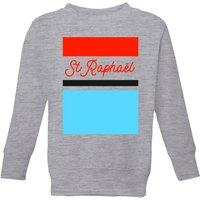 Summit Finish St Raphael Kids' Sweatshirt - Grey - 3-4 Years - Grey