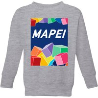 Summit Finish Mapei Kids' Sweatshirt - Grey - 11-12 Years - Grey