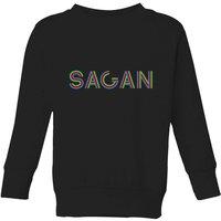 Summit Finish Sagan - Rider Name Kids' Sweatshirt - Black - 3-4 Years - Black