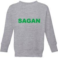 Summit Finish Sagan Bold Kids' Sweatshirt - Grey - 11-12 Years - Grey