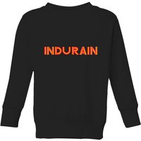 Summit Finish Indurain - Rider Name Kids' Sweatshirt - Black - 5-6 Years - Black