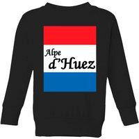 Summit Finish Alpe D'Huez Kids' Sweatshirt - Black - 3-4 Years - Black