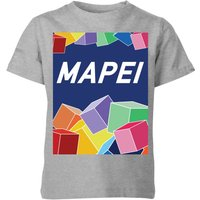 Summit Finish Mapei Kids' T-Shirt - Grey - 7-8 Years - Grey