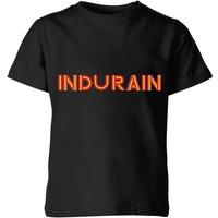 Summit Finish Indurain - Rider Name Kids' T-Shirt - Black - 3-4 Years - Black