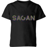 Summit Finish Sagan - Rider Name Kids' T-Shirt - Black - 7-8 Years - Black
